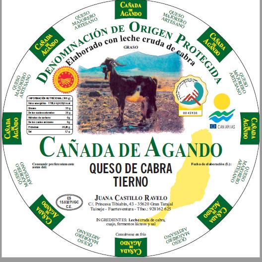 etiqueta Cañada de Agando