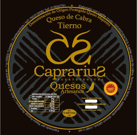 etiqueta caprarius
